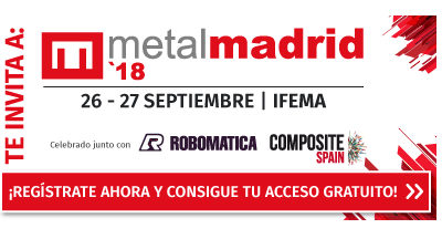 MECANIZADOS DE PRECISION Y CALIDAD te invita a MetalMadrid, Robomatica y Composite Spain Te esperamos en el Pabellón 2 Stand E17